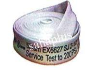 สายส่งน้ำดับเพลิง 5-Elem ชนิดผ้าใบ (สีขาว)