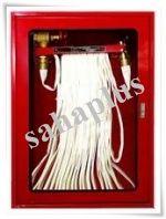 ชุดตู้พร้อมชุดแรคสายส่งน้ำแบบมาตรฐานอังกฤษ (Fire Hose Cabinet)