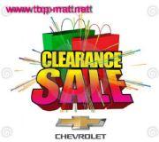 สินค้าลดล้างสต๊อก Chevrolet