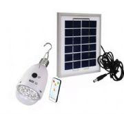 หลอดโคมไฟพลังงานแสงอาทิตย์ 12LED เปิด-ปิดด้วยรีโมท