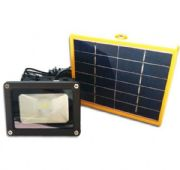 สปอร์ตไลท์พลังงานแสงอาทิตย์ SMD LED แสงขาว