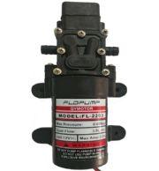 ปั๊มน้ำใช้แบตเตอรี่ 12VDC แบบปั๊มแรงดันสูง 24W 180L/Hr