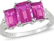 Platinum Single Stone Ring