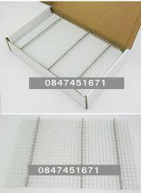 สันห่วงเหล็ก/สันขดลวด 1/2 นิ้ว 12.7 mm สีขาว 100 เส้น