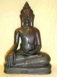 พระพุทธรูปศิลปเขมรอิทธิพลอู่ทอง ปางมารวิชัย