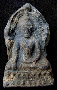 พระชินราชใบเสมา พิมพ์ใหญ่ฐานเตี้ย กรุวัดพระศรีรัตนมหาธาตุ จ.พิษณุโลก No.054