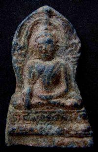 พระชินราชใบเสมา พิมพ์ใหญ่ฐานสูง กรุวัดพระศรีรัตนมหาธาตุ จ.พิษณุโลก No.055