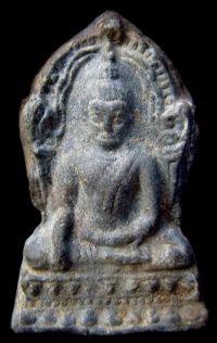 พระชินราชใบเสมา พิมพ์ใหญ่ฐานเตี้ย กรุวัดพระศรีรัตนมหาธาตุ จ.พิษณุโลก No.049