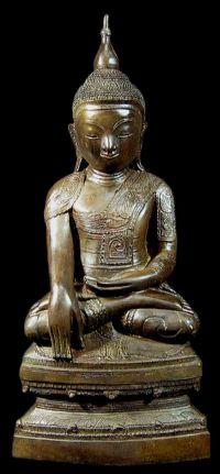 พระพุทธรูป ศิลปพุกาม พม่า No.064