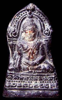 พระชินราชใบเสมา พิมพ์ใหญ่ฐานสูง กรุวัดพระศรีรัตนมหาธาตุ จ.พิษณุโลก No.018