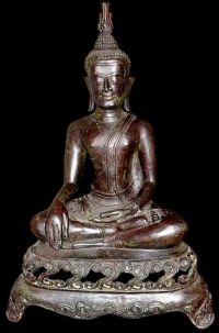 พระพุทธรูปสมัยอู่ทองหน้าแก่