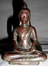 พระพุทธรูปสมัยลพบุรี ปางสมาธิราบ