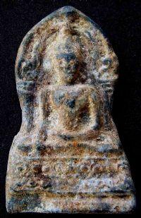 พระชินราชใบเสมา พิมพ์ใหญ่ฐานสูง กรุวัดพระศรีรัตนมหาธาตุ จ.พิษณุโลก No.063