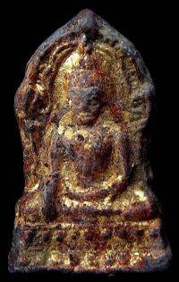 พระชินราชใบเสมา พิมพ์ใหญ่ฐานเตี้ย กรุวัดพระศรีรัตนมหาธาตุ จ.พิษณุโลก No.065