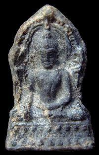 พระชินราชใบเสมา พิมพ์ใหญ่ฐานเตี้ย กรุวัดพระศรีรัตนมหาธาตุ จ.พิษณุโลก No.066