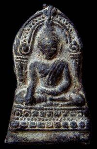 พระชินราชใบเสมา พิมพ์ใหญ่ฐานสูง กรุวัดพระศรีรัตนมหาธาตุ จ.พิษณุโลก No.069