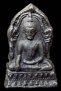 พระชินราชใบเสมา พิมพ์ใหญ่ฐานเตี้ย กรุวัดพระศรีรัตนมหาธาตุ จ.พิษณุโลก No.070