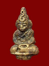 พระชัยวัฒน์รุ่นแรกปีพ.ศ.2485 หลวงพ่อสุด วัดหนองหวาย อ.ท่าชนะ จ.สุราษฎร์ธานี