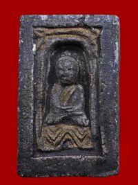 พระหลวงปู่ทวด เนื้อว่าน ปี พ.ศ.๒๔๙๗ พิมพ์กลักไม้ขีด
