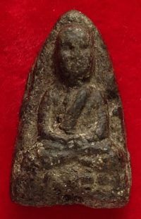 พระหลวงปู่ทวด เนื้อว่าน ปี พ.ศ.2497 พิมพ์กลางชะลูด วัดช้างให้ จ.ปัตตานี No.2002