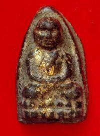 พระหลวงปู่ทวด เนื้อว่าน ปี พ.ศ. 2497 พิมพ์ใหญ่กรรมการปิดทองเดิม วัดช้างให้ จ.ปัตตานี No.235