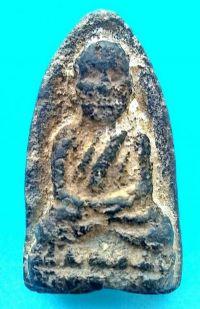 พระหลวงปู่ทวดเนื้อว่าน ปี พ.ศ.2497 พิมพ์ใหญ่หัวมีขีด วัดช้างให้ จ.ปัตตานี No.2043
