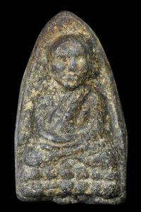 พระหลวงปู่ทวด เนื้อว่าน ปี พ.ศ.2497 พิมพ์ใหญ่ไหล่จุด วัดช้างให้ อ.โคกโพธิ์ จ.ปัตตานี No.1837