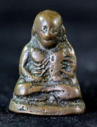 พระรูปหล่อลอยองค์ หลวงพ่อเงิน พิมพ์ขี้ตา 4 ชาย จีวรยาว วัดบางคลาน จ.พิจิตร No.011