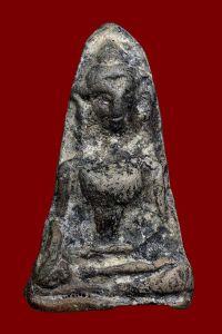 พระผงสุพรรณ พิมพ์หน้าแก่ กรุวัดพระศรีรัตนมหาธาตุ จ.สุพรรณบุรี No.028