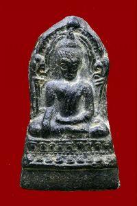 พระชินราชใบเสมา พิมพ์ใหญ่ฐานสูง เนื้อชินเงิน กรุวัดพระศรีรัตนมหาธาตุ จ.พิษณุโลก No.2480