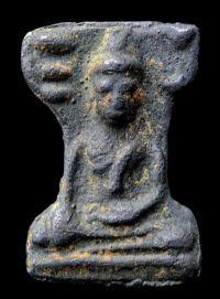 พระมเหศวร พิมพ์ใหญ่เศียรโต กรุวัดพระศรีรัตนมหาธาตุ สุพรรณบุรี No.129