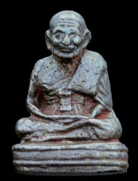 รูปหล่อหลวงปู่ทวด รุ่นเลขใต้ฐาน(เบตง) ปี พ.ศ.2505 เลขใต้ฐาน 19 No.2566