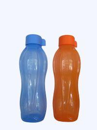 ขวดน้ำ eco 750 มล. สีฟ้า/สีส้มพร้อมกล่อง