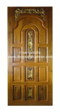 ประตูไม้สัก ล้านนา