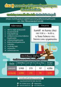 14092562 สาระสำคัญและแนวทางปฏิบัติตามพระราชบัญญัติคุ้มครองข้อมูลส่วนบุคคล  พ.ศ. 2562 ที่ฝ่ายบุคคลและผู้บริหารควรรู้!!
