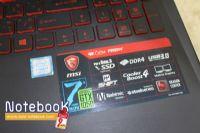 MSI GL62M 7RDX i7-7700HQ NVIDIA GeForce GTX 1050 (2GB GDDR5)