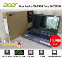 Acer Aspire F5-573G Core i5-7200U GeForce GTX 950M