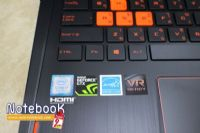 Asus ROG Strix G502VM Core i7-7700HQ GeForce GTX 1060 6GB GDDR5