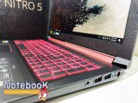 Acer Nitro 5 AN515 Core i5-8300H GTX 1050 4GB RAM 8 GB HDD 1 TB จอ 15.6