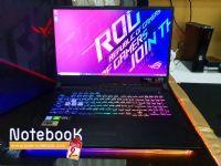 (ใหม่) Asus ROG Strix G G731GW-EV208T Core i7-9750H RTX 2070(8GB GDDR6) RAM 16 GB 512 GB SSD 17.3 inch FHD 144 Hz