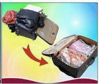 ถุงสูญญากาศ easy roll-up (แบบใช้มือม้วน) เนื้อหนา grade A เหมาะสำหรับแพคเสื้อผ้าเดินทาง size M