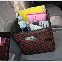 ของใช้ในรถ : seat pocket กระเป๋าใส่ของในรถพับเก็บได้