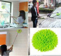 ไม้ม็อปไมโครไฟเบอร์ทำความสะอาดกระจก/ผนัง/รถยนต์