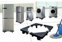 ขาตั้งคู้เย็น/เครื่องซักผ้ามีล้อเลื่อนได้ (size S)