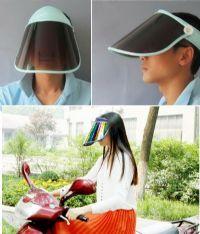 visor กัน UV ปกปิดใหน้าจากแดดปรับได้ 360 องศา