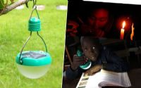 โคมไฟพกพา led SOLAR Cell พลังงานแสงอาทิตย์
