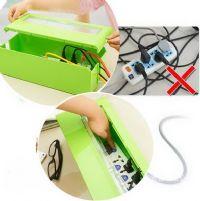 ของใช้ในบ้าน : กล่องจัดเก็บปลั๊กและสายไฟ