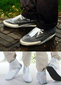 ปลอกสวมรองเท้ากันฝนสำหรับคุณผู้ชาย