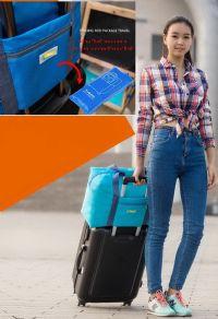 กระเป๋าพกพาเดินทาง compact พับได้