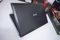 MSI FX400 i3-380M (2.53GHz)  การ์ดจอแยก NVIDIA GeForce GT 325M (1GB GDDR3)